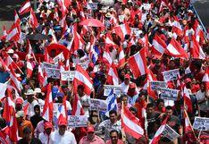Miles piden la renuncia del presidente de Honduras por supuestos lazos con el narcotráfico