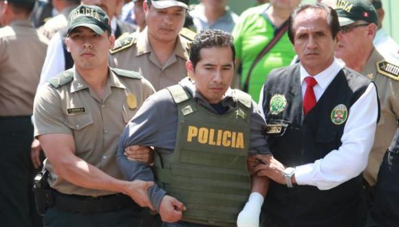 Carlos Javier Hualpa Vacas fue detenido el último miércoles en una vivienda de Carabayllo. (El Comercio)