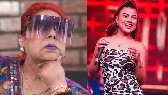 Lucía de la Cruz podría realizar un dúo con Brunella la 'Ronquita de la salsa'. (Foto: Archivo/Instagran)