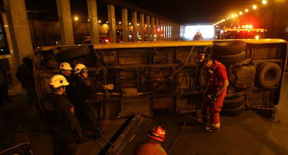 Metropolitano: coaster accidentada debe S/. 30 mil en multas