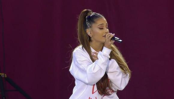 Ariana Grande es la principal organizadora de este show benéfico. (Foto: YouTube)