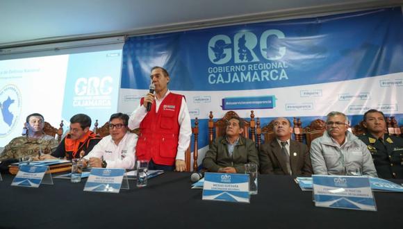 Walter Martos Ruíz visitó Cajamarca. (Foto: GEC)