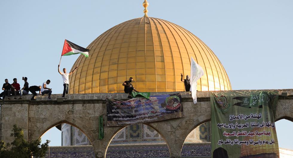 El Domo de la Roca, en la mezquita de Al Aqsa. Es el sitio más venerado por los musulmanes que visitan Jerusalén, la ciudad que también es santa para los judíos y cristianos. REUTERS/Ammar Awad
