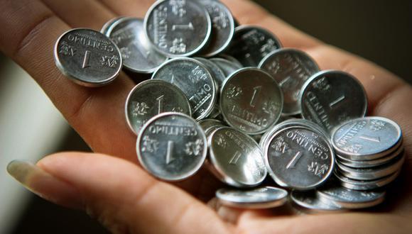 El BCR ya había informado que las monedas de cinco céntimos dejarán de circular desde el 1 de enero de 2019.