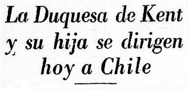 """Su gira debió proseguir. La Duquesa de Kent y la princesa Alejandra volvieron al """"Bristol Britannia"""" para llegar a su tercer país: Chile. El Perú nunca las olvidaría. (Foto-titular: GEC Archivo Histórico)"""