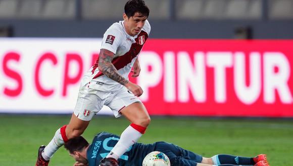 Gianluca Lapadula ha jugado 3 partidos con la selección peruana. (Foto: GEC)