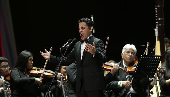 Tenor peruano ofrecerá concierto por Fiesta Patrias en la PLaza Mayor de Lima. Ingreso será libre. (Foto: GEC)