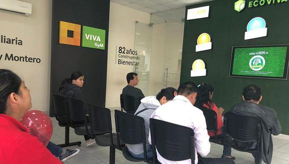 Viva informó que reducirá en un 50% el aforo de sus centros de venta de viviendas. (Foto: GEC)