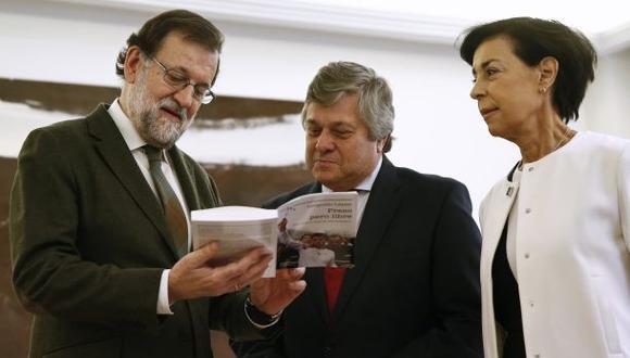 Rajoy recibe a familia del opositor venezolano Leopoldo López