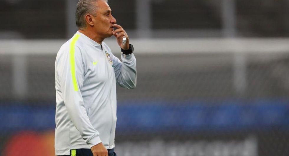 Entrenamiento Brasil miras al partido con Perú. (Foto: Daniel Apuy)
