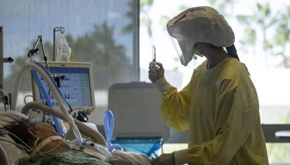 Coronavirus en Estados Unidos   Últimas noticias   Último minuto: reporte de infectados y muertos hoy, lunes 26 de enero del 2021   Covid-19   EFE/EPA/ETIENNE LAURENT