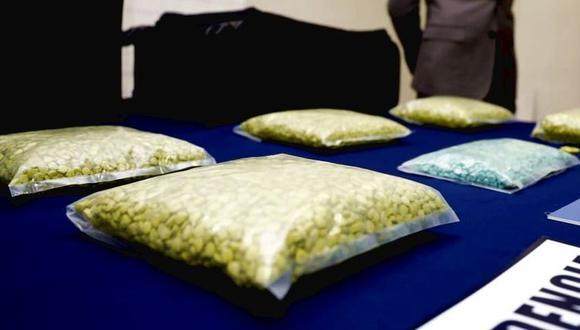 Paraguay: Chileno cae con más de 8.000 pastillas de éxtasis que escondía en maleta. (EFE)