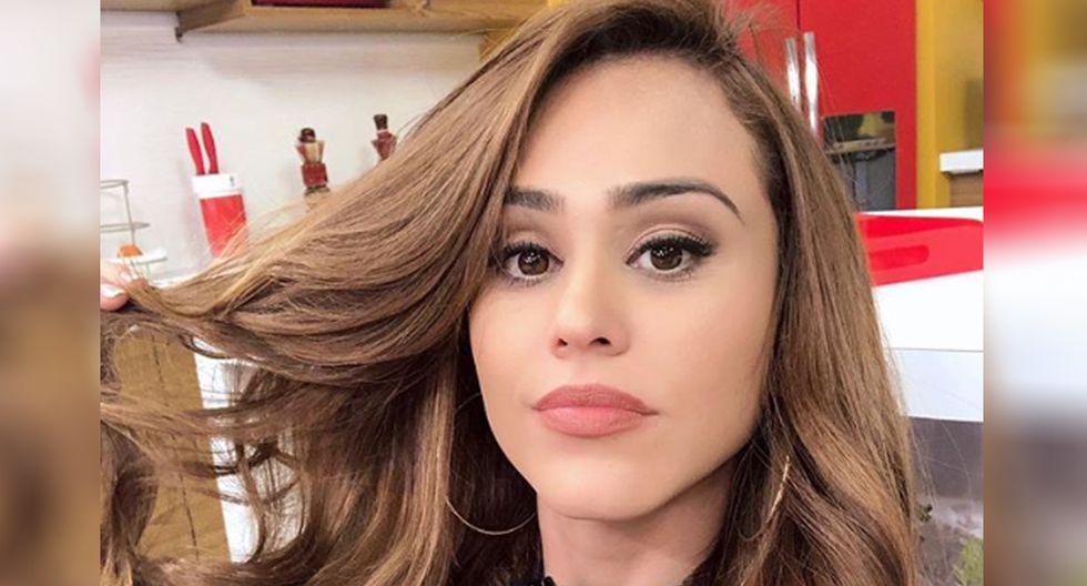 Yanet García no se calló nada y respondió a su ex novio por video de YouTube (Foto: Instagram)