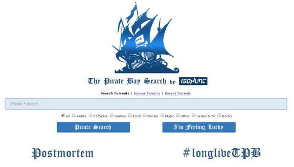 The Pirate Bay regresa a la andadas