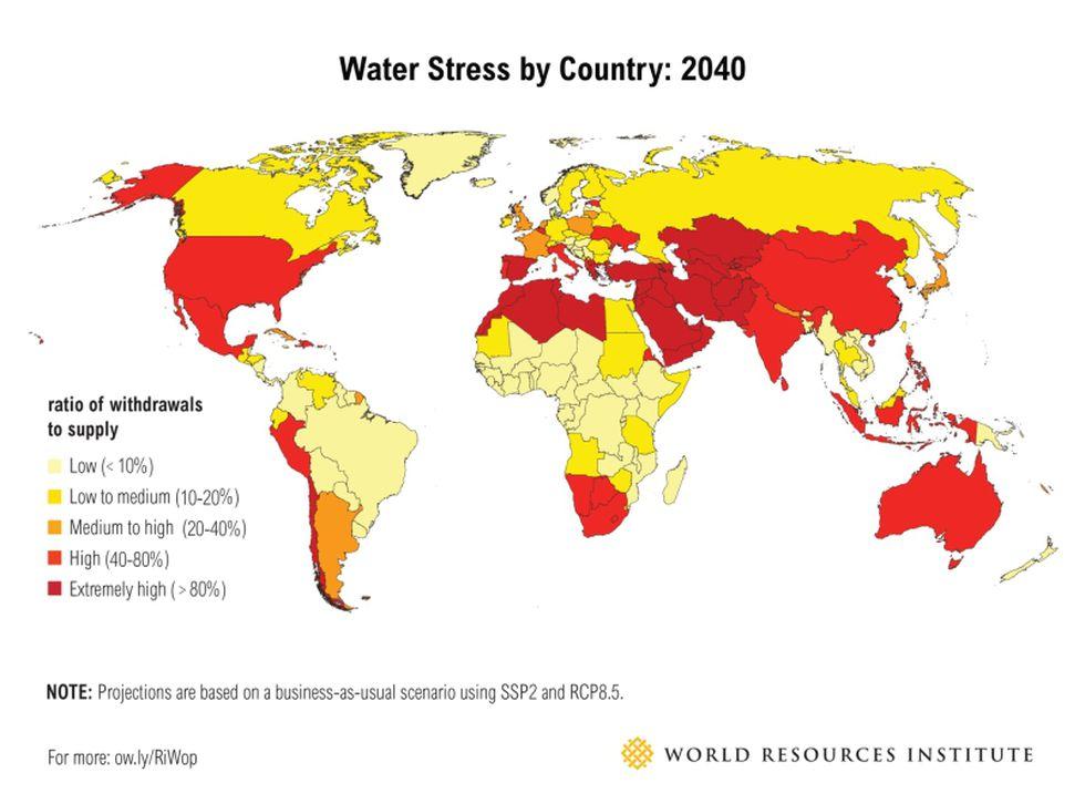 El Preocupante Mapa Que Muestra A Los Paises Con Mas Riesgo De