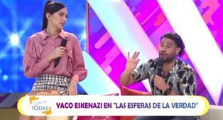 Yaco Eskenazi confiesa que Natalie Vértiz es una 'celosa sutil'