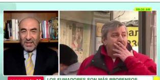 Salud: Dr Huerta advierte sobre el riesgo en fumadores ante COVID-19