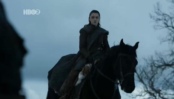"""Esto fue lo que sucedió con Arya Stark en el cuarto capítulo de la octava temporada de """"Game of Trones"""". (HBO)"""