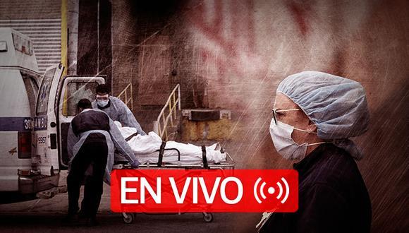 Coronavirus en Estados Unidos   Sigue EN DIRECTO las últimas noticias y las cifras actualizadas de casos confirmados y muertes por Covid-19 en el país norteamericano, hoy domingo 31 de mayo de 2020   Foto: Diseño GEC