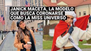 Miss Universo: Conoce la historia de Janick Maceta, la modelo peruana que busca suceder a Zozibini Tunzi
