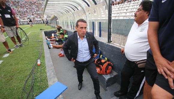 """Guillermo Sanguinetti: """"Me gusta como juega este Alianza"""""""