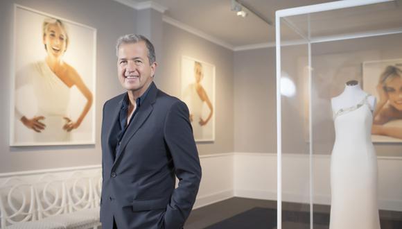 Mario Testino expone en Lima sus fotos de la princesa Diana