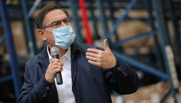 Presidente Martín Vizcarra volvió a hacer un llamado al Congreso para que apruebe reforma política pendiente (Foto: Presidencia)