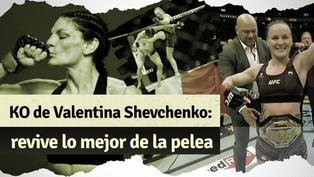 UFC 266: Valentina Shevchenko retuvo su título con impactante nocaut