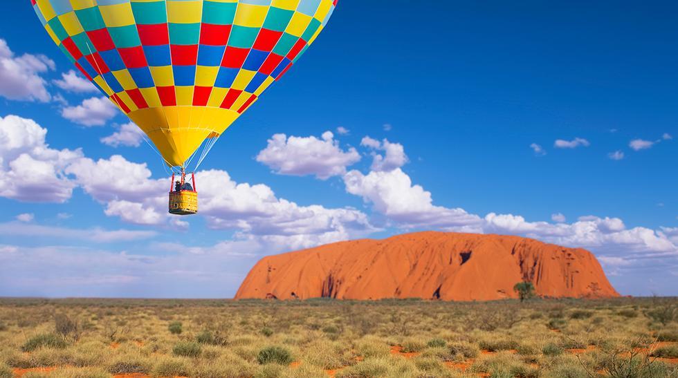 Descubre este impresionante monte rojo en Australia - 1