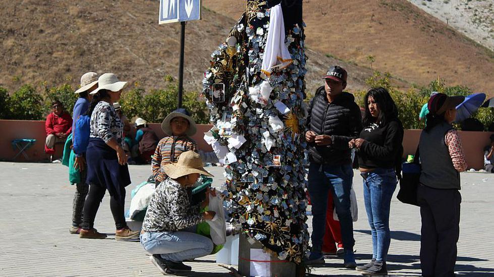 Unas 230 mil personas llegaron a Arequipa para celebrar a la Virgen de Chapi. (Foto: Carlos Zanabria/ El Comercio)