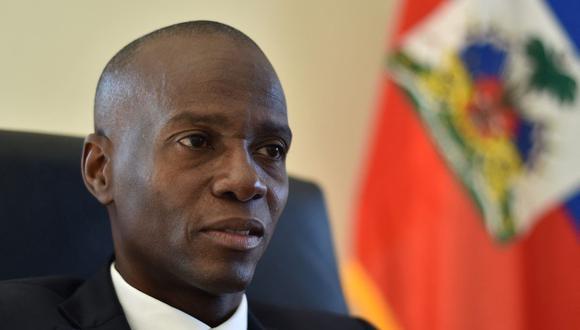 Jovenel Moise habla durante una entrevista con AFP en la capital de Haití el 1 de diciembre del 2016. (Foto de HECTOR RETAMAL / AFP).