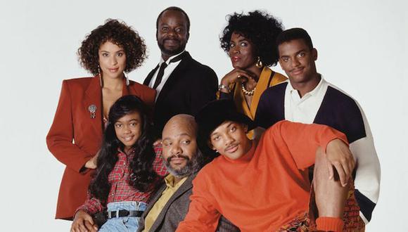 """El gran elenco de""""The Fresh Prince of Bel-Air"""" no fue del todo bueno a pesar de la popularidad de la serie de Estados Unidos. (Foto: NBC)"""