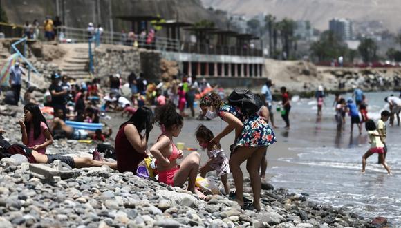 Las playas podrían convertirse en nuevos focos de contagio de COVID-19. (Foto: Jesús Saucedo / GEC)