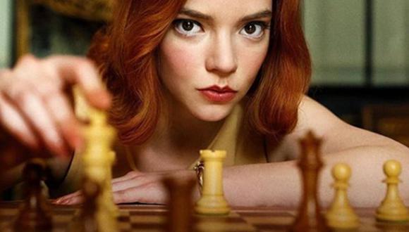 """""""Gambito de Dama"""" es la serie de Netflix que protagoniza Anya Taylor-Joy (Foto: Netflix)"""