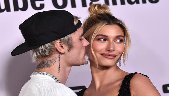 Justin y Hailey suelen darse muestras de amor mediante sus redes sociales. (Photo by LISA O'CONNOR / AFP)