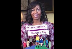 Michelle Obama y los snapchats por el Día de la Mujer [FOTOS]
