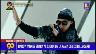 Daddy Yankee entra al salón de la fama de los Billboard