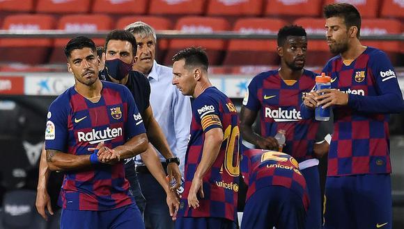 Asistente de Setién en Barcelona reveló su relación con Messi y la crisis del club. (Foto: AFP)