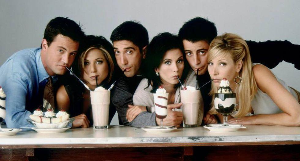 """Actores de """"Friends"""" reciben 20 millones de dólares al año por retransmisiones. (Foto: @friends.tv)"""