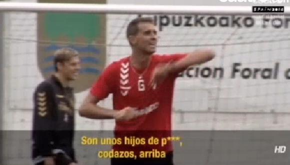 Los insultos de un técnico español a jugadores del Atlético