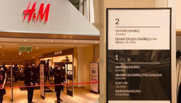 H&M Cusco abre sus puertas este 1 de julio, en el C.C. Real Plaza. (Fotos: H&M)