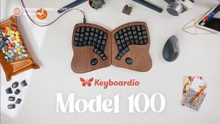 Keyboardio Model 100: El teclado diseñado para la comodidad de tus manos