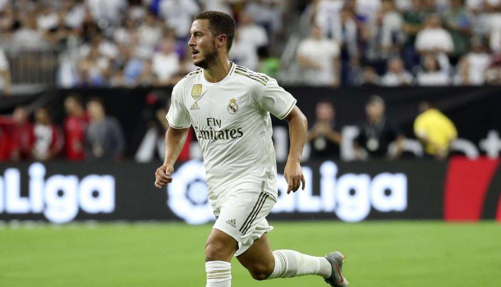 Eden Hazard tendrá nuevo dorsal en el Real Madrid. (Foto: Reuters)