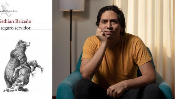 """Cristhian Briceño (Lima, 1986) ha publicado libros de narrativa y poesía. """"Su seguro servidor"""" es publicado con el sello Seix Barral. (Foto: Leandro Britto)"""