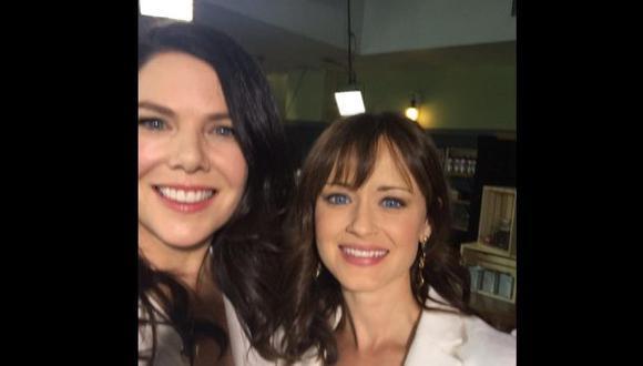 """""""Gilmore Girls"""": así fue el reencuentro de sus protagonistas"""