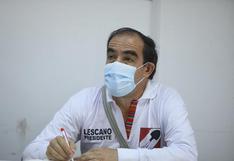Lescano sobre críticas de Merino: Le pido a los militantes del partido y al Perú que saquen sus propias conclusiones