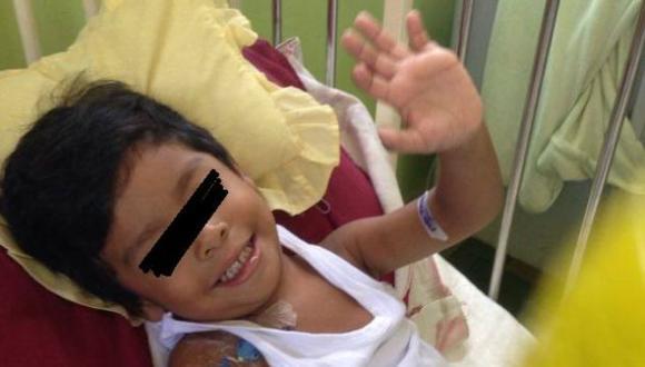 Ayuda social: niño necesita viajar al extranjero por trasplante