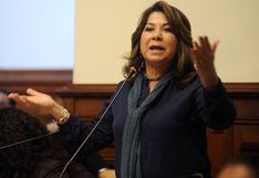 """Martha Chávez: """"No podemos dejar que Martín Vizcarra siga un minuto más en el cargo"""""""