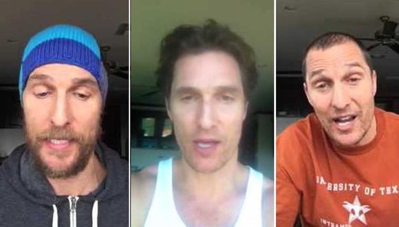 La desconocida faceta de 'youtuber' de Matthew McConaughey