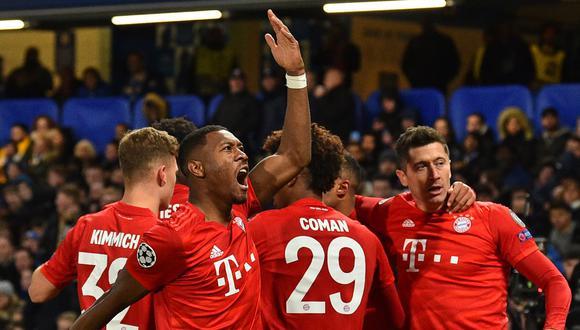 Bayern Múnich enfrentará al Hoffenheim por la Bundesliga. Conoce los horarios y canales de todos los partidos de hoy, sábado 29 de febrero. (AFP)